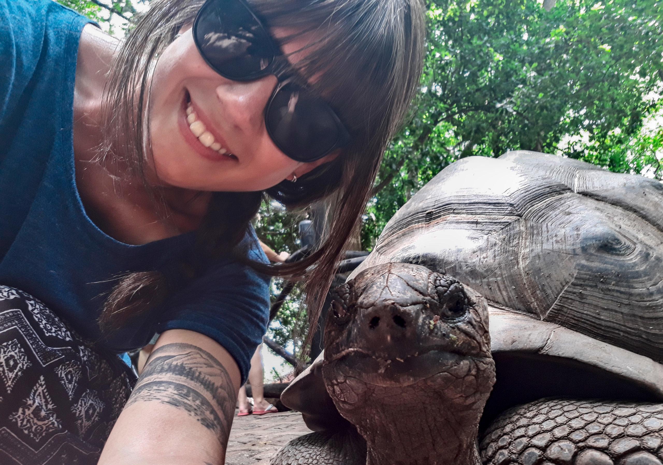 zanzibar-żółw-selfie