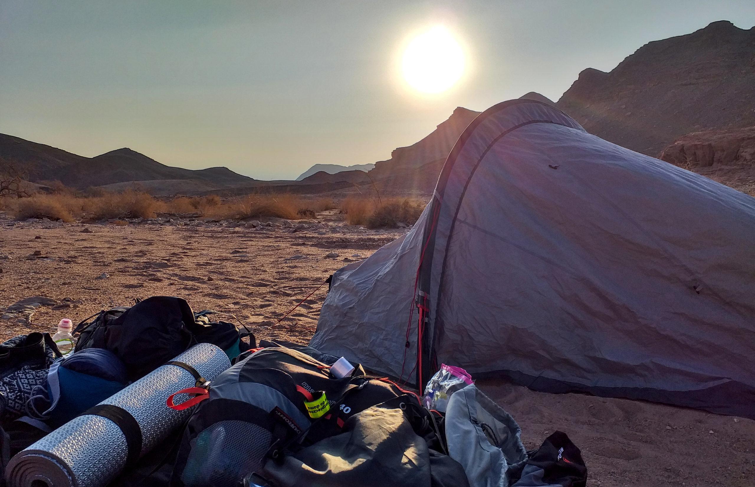 izrael-namiot-pustynia