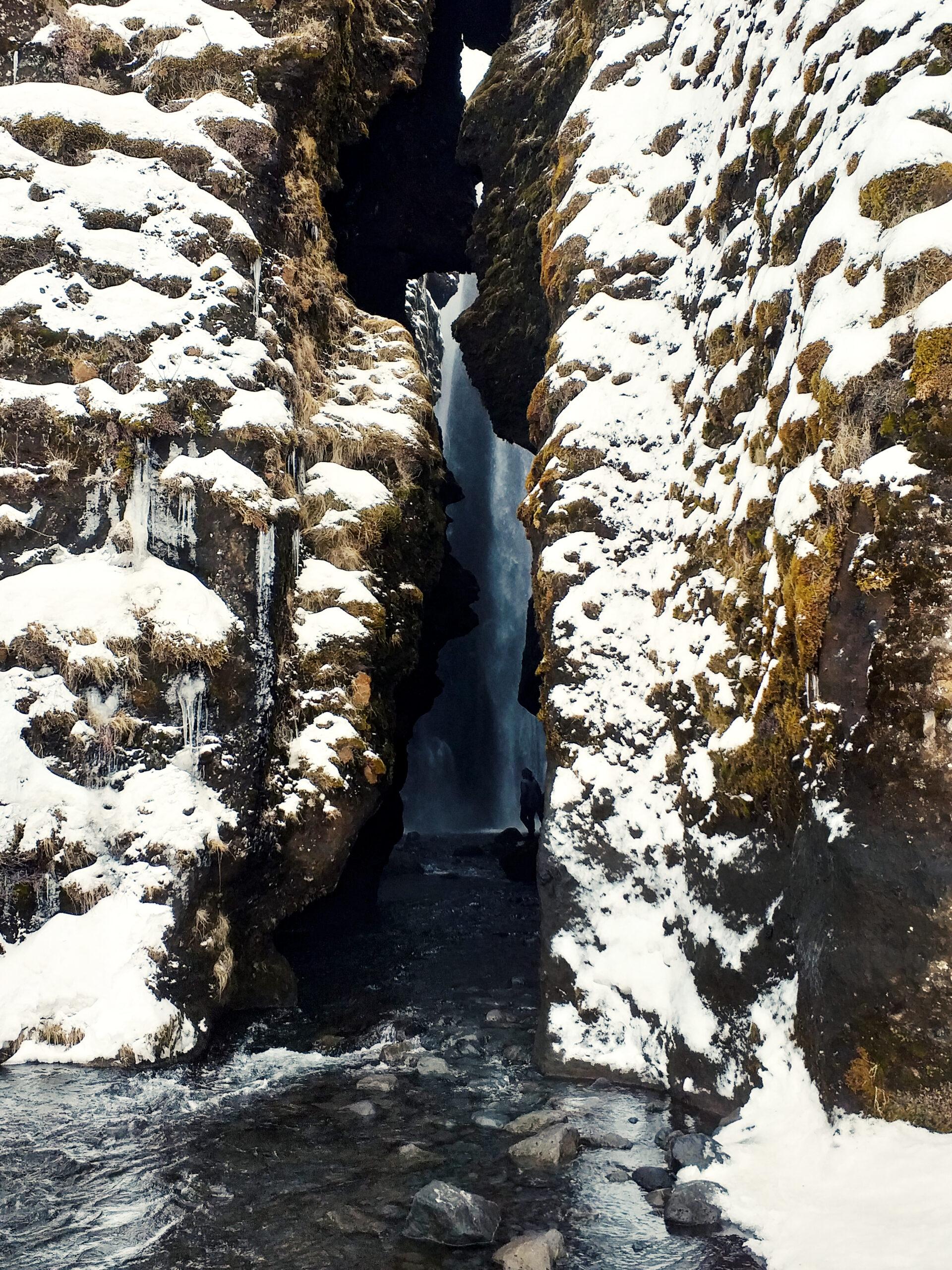Gljúfrabúi-wodospad
