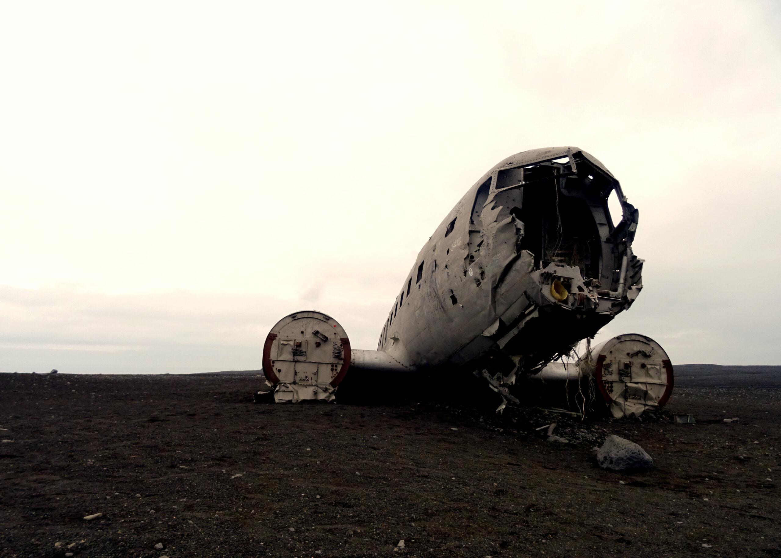 islandia-wrak-samolotu